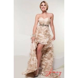 Jasz Couture High/Low Gown